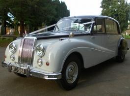 Classic 1955 wedding car hire in Dartford